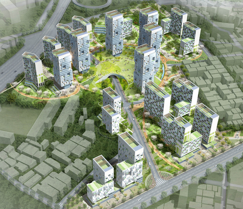 Kuro District 1<br>Housing Redevelopment<br>Maintenance Zone